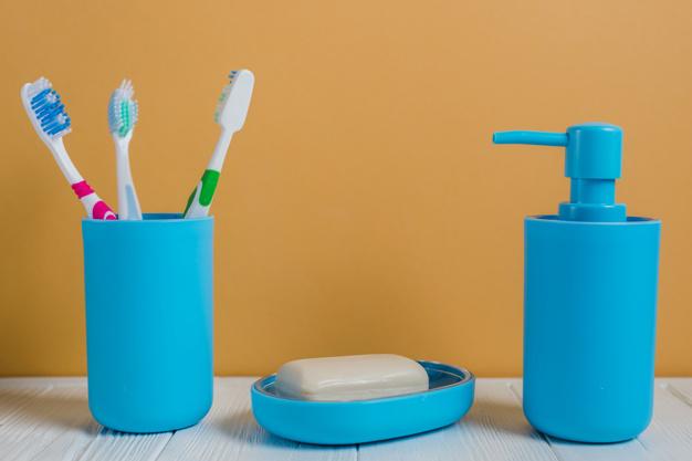 Indretning af badeværelse på en farverig måde